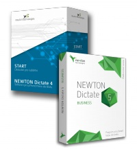 Upgrade z NEWTON Dictate 4 Start na verzi NEWTON Dictate 5 Business